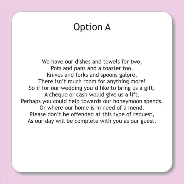 Wedding Shower Tea Party Rhymes