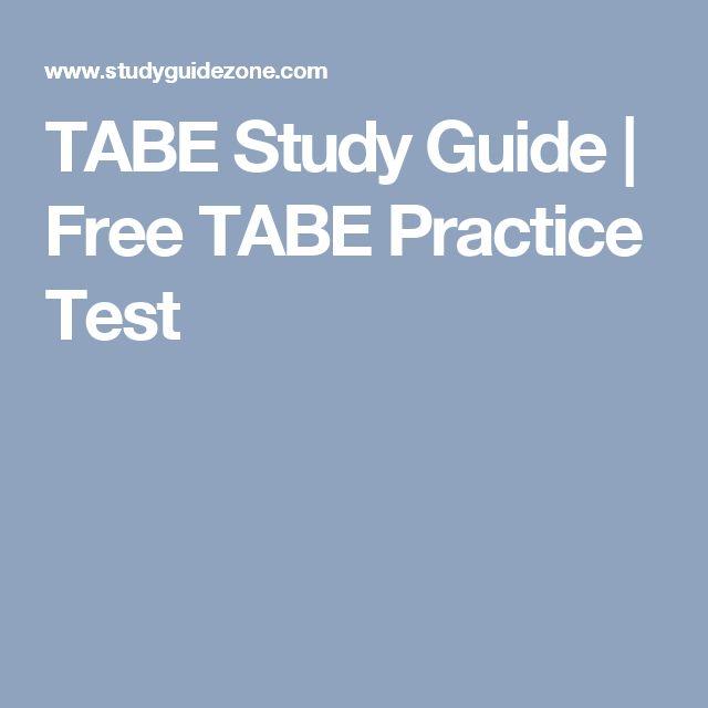 Practice Tabe Test Math