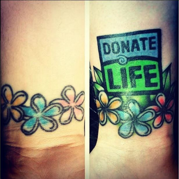 Tattoo Donor Means Organ
