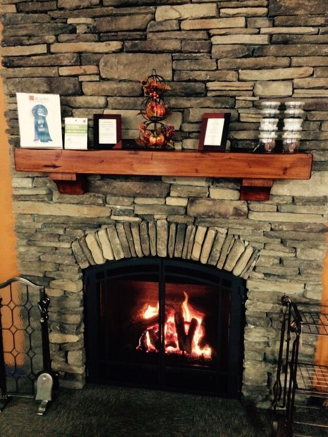 Fireplace Build Arch Stone