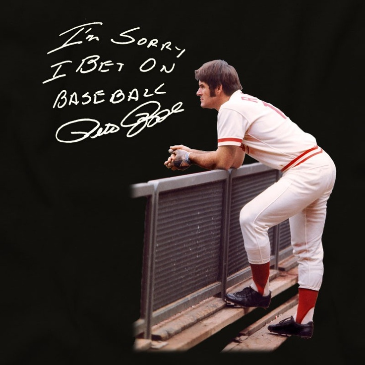 17 Best Images About Pete Rose On Pinterest Mantles