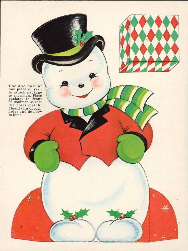 Snowman Cut Out Clip Art