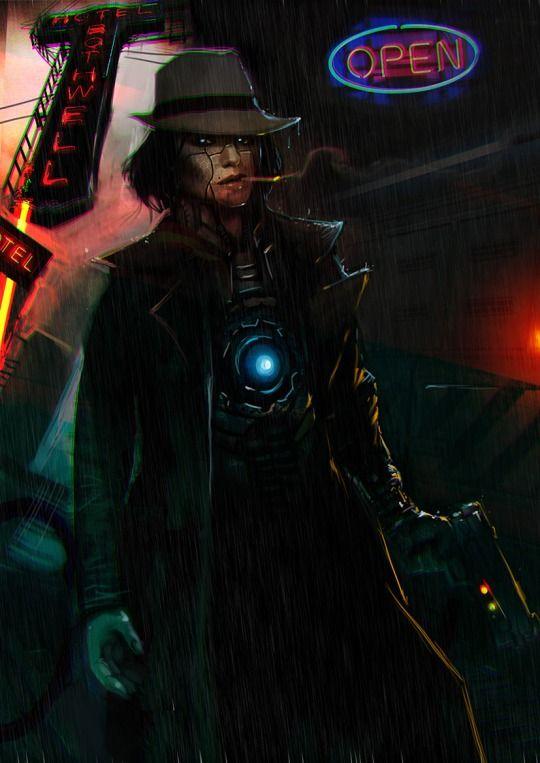Noir Concept Art Detective