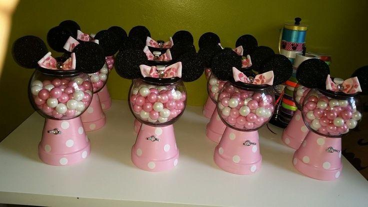 Para Minnie Shower Mouse Invitaciones Como De Baby Hacer