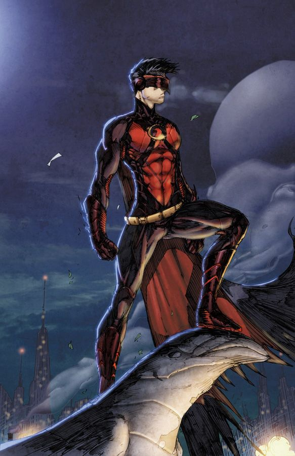 Brett Booth's alternate look for Red Robin. I kinda like this better than the wings. | Full ...