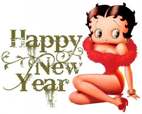 Betty Boop Christmas Clip Art