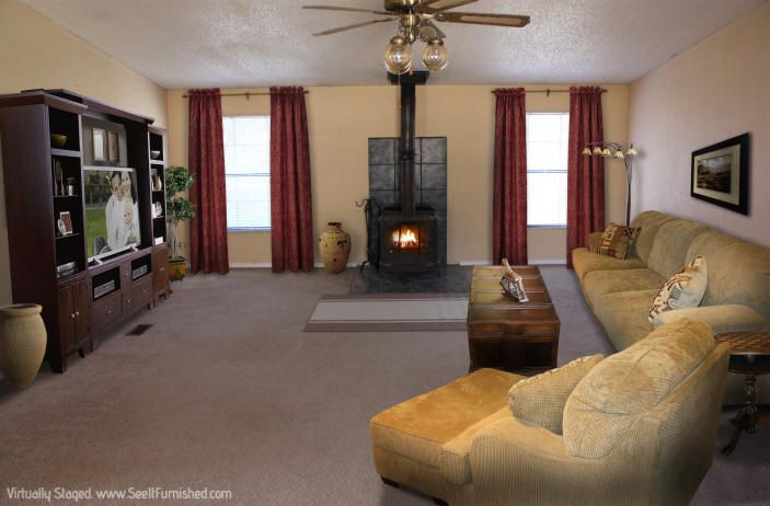 1000 Images About Wood Burning Stove Living Room