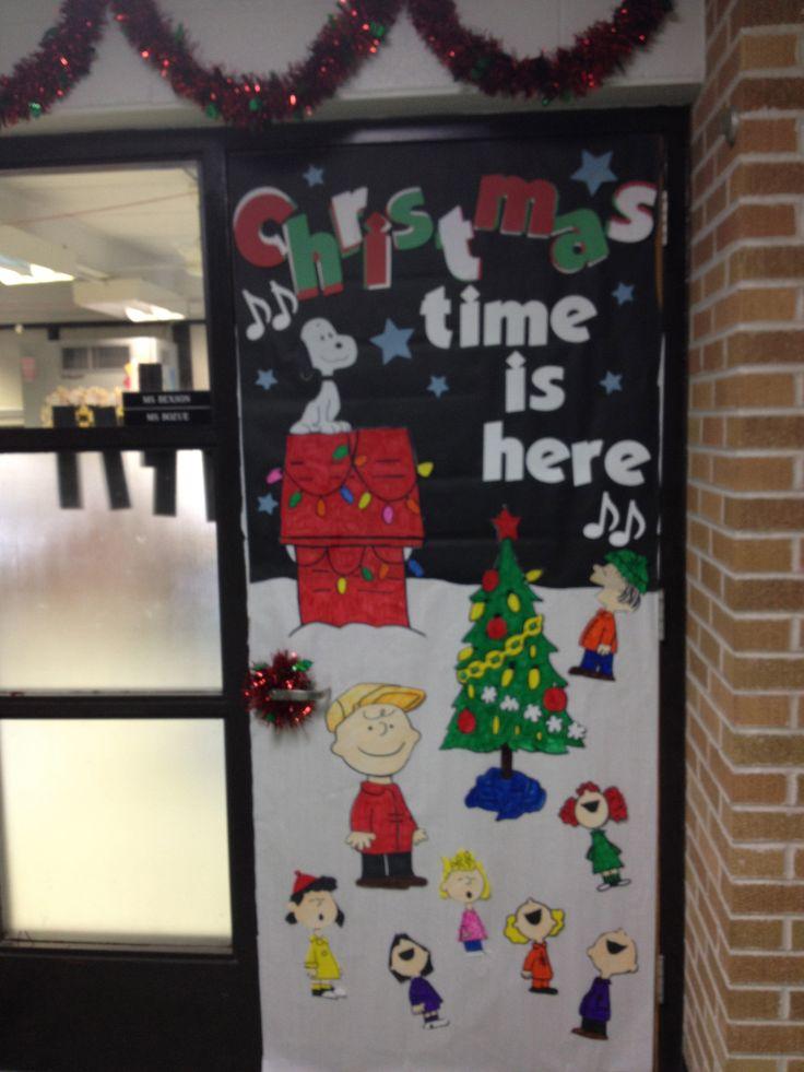 Christmas Nightmare Decoration Door Theme