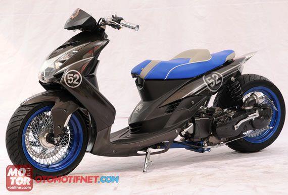 Modification Sporty Mio