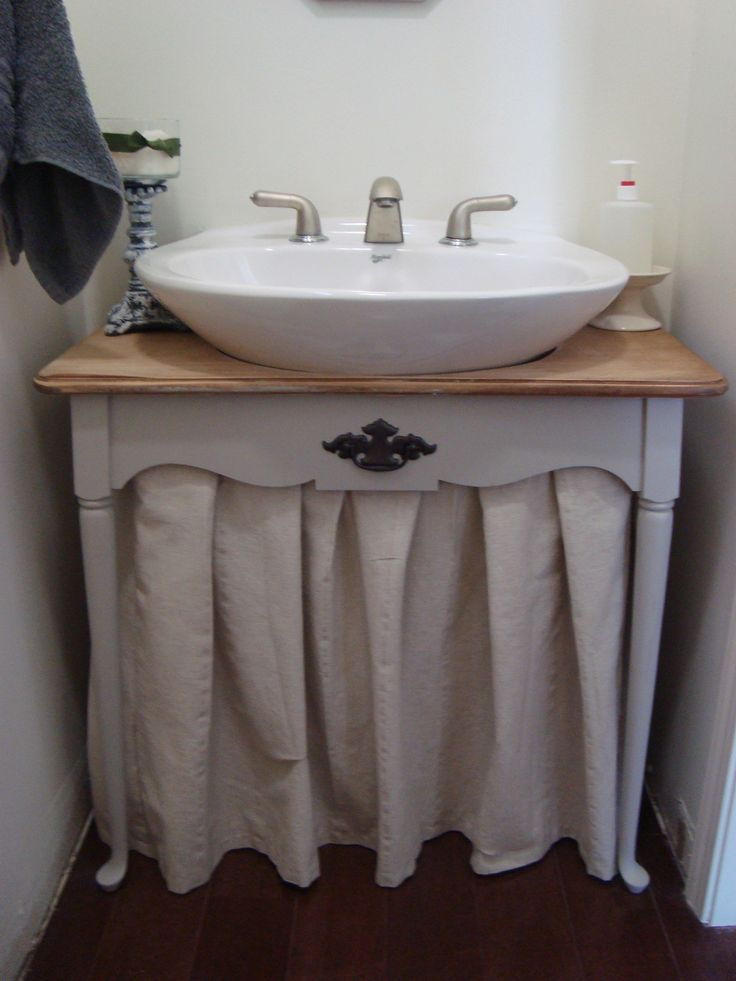 Knew It Could Be Done This Is A Pedestal Sink Don T