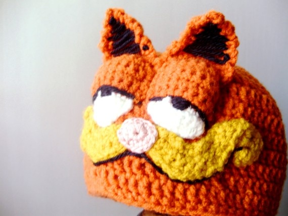 Knitted Halloween Beanies For Babies