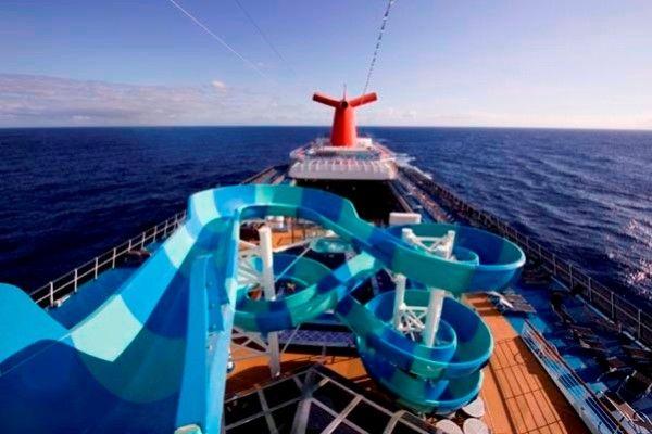 Water Slides Ships Cruise