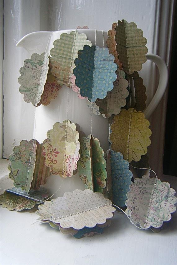 Paper Garlands Pinterest