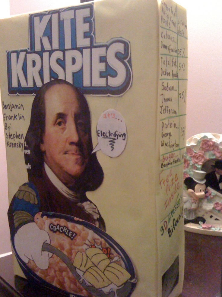 Cereal Box Ideas Students