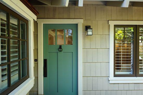 Beautiful Exterior Color Combo Complement Bronze Windows