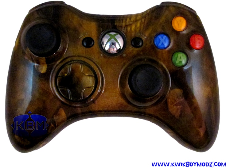 Black And Yellow Controller 360 Xbox