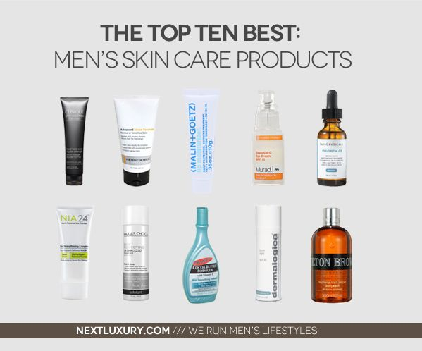 Ten Top Care Products Skin