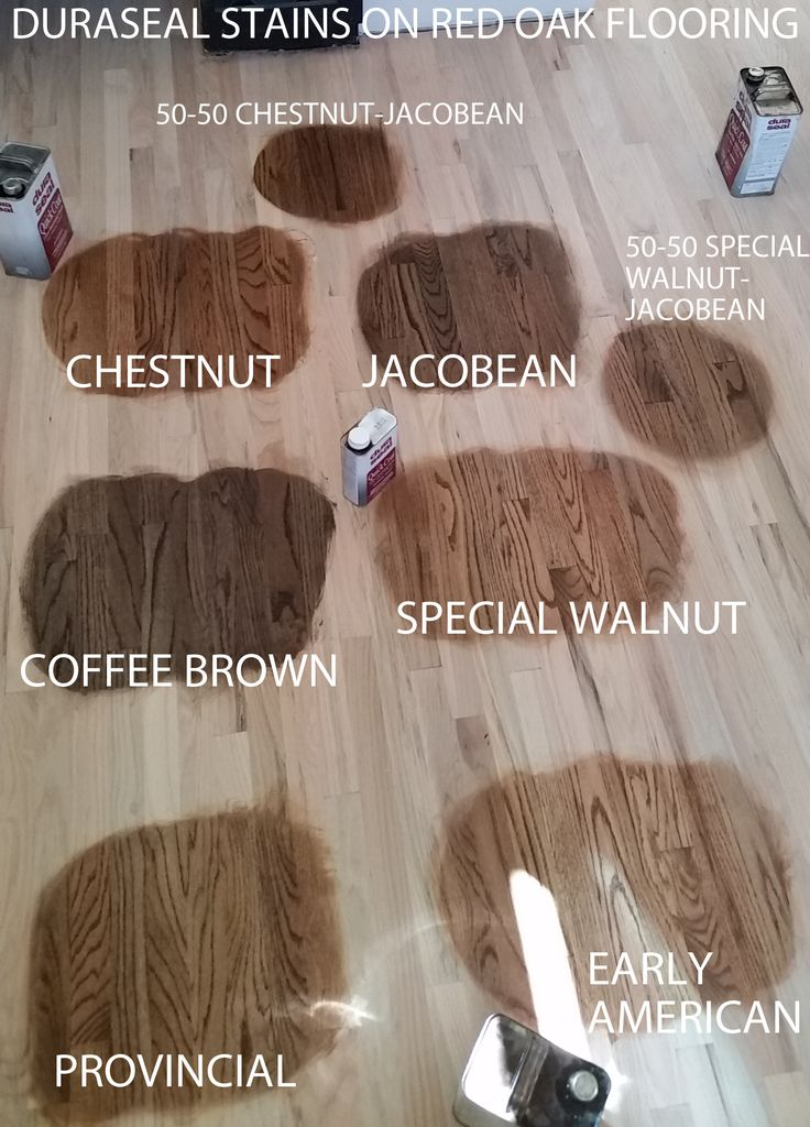 Color Chart Wood Stains