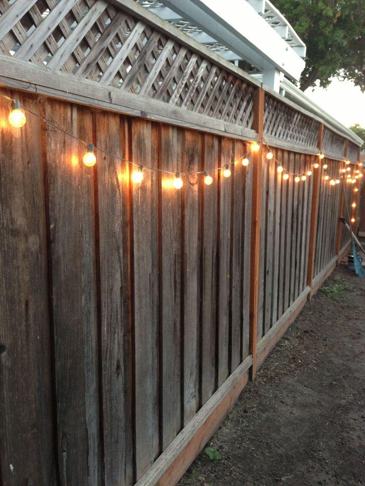 Outdoor Fence Lighting