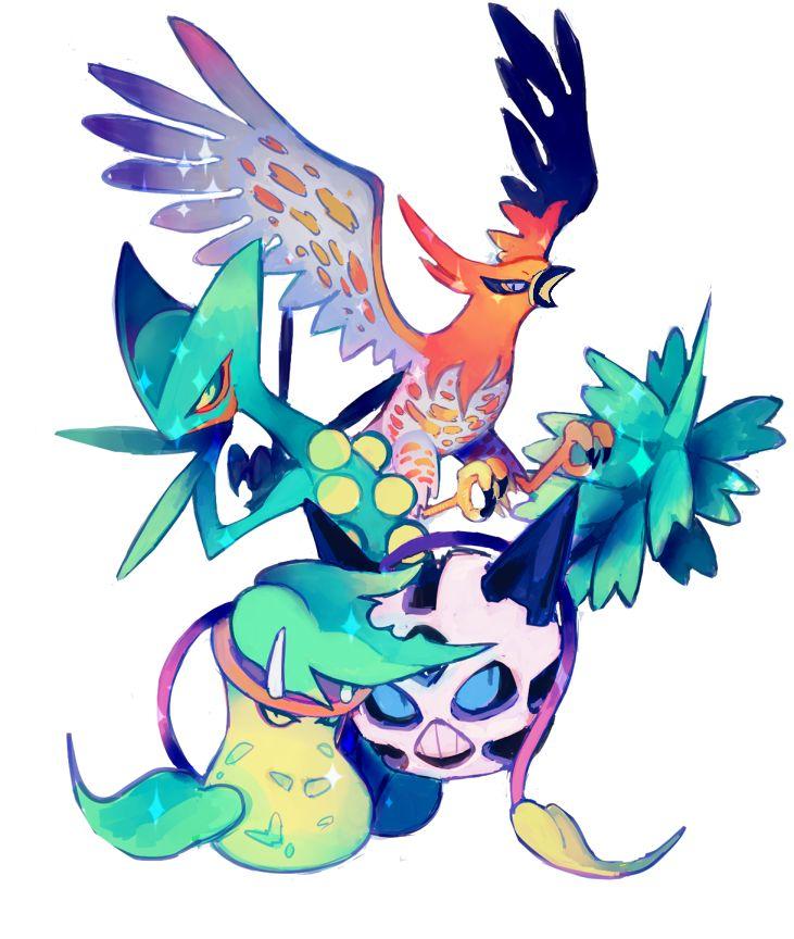Pokemon Victreebel Shiny
