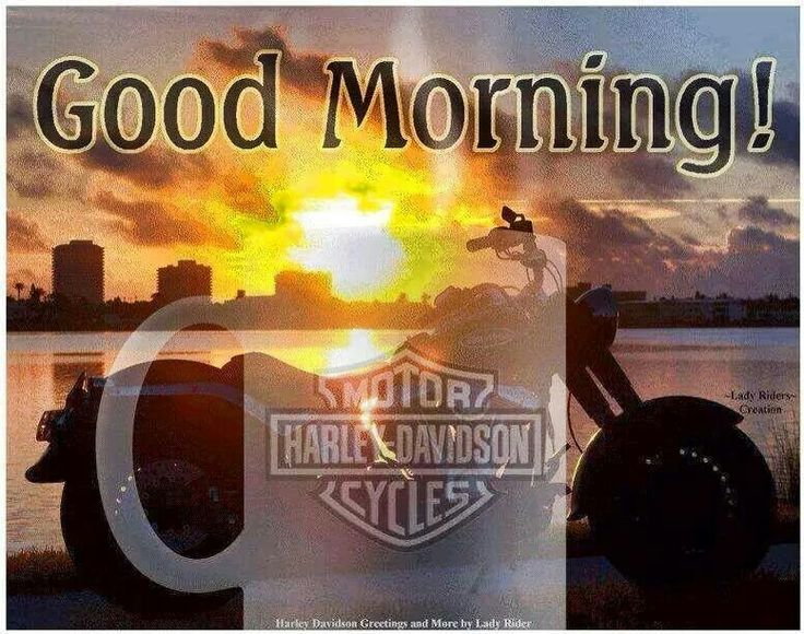 Good Biker Quotes Morning