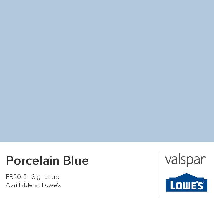 Valspar Paint Color Chip Porcelain Blue Baby S Room