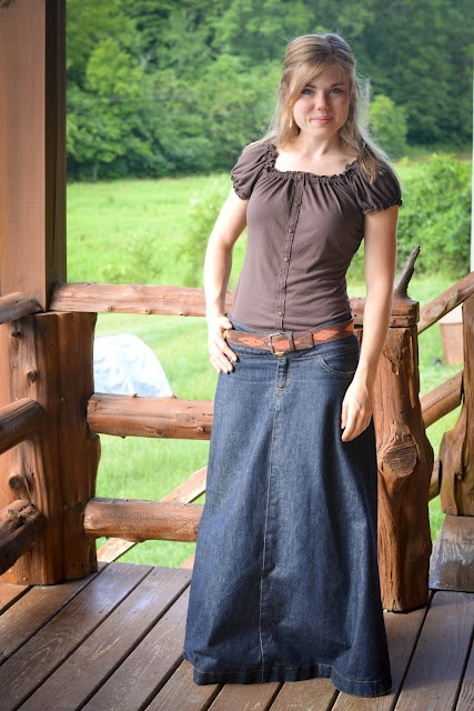 Long Skirts Wear Cowgirl Boots