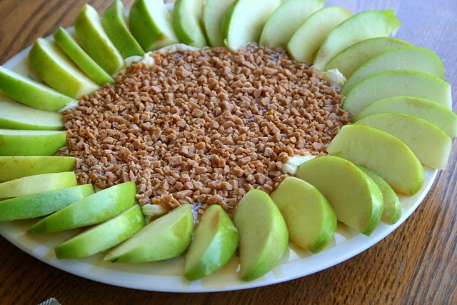 Apple Cream Dip Cheese Heath