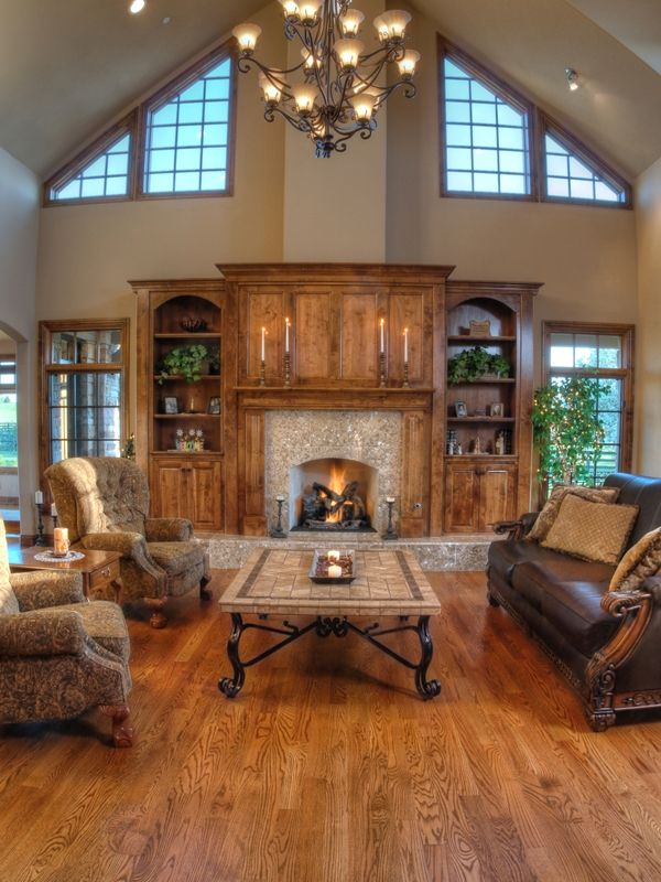 Floor Ceiling Fireplace French