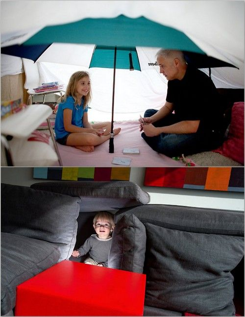 Diy Indoor Tents Rods