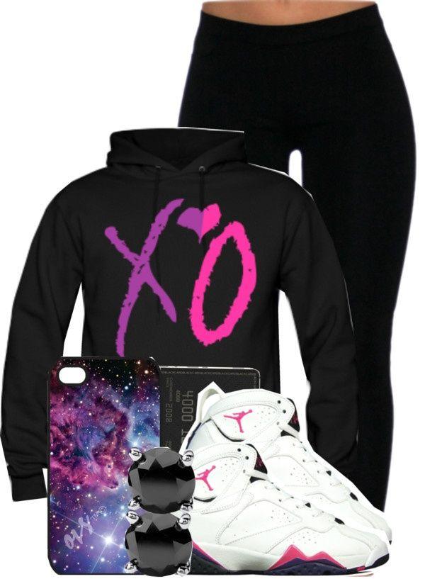 huge discount 9b42a 8c032 Polyvore Jordan Outfits Girls