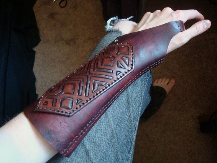 Custom Leather Archery Arm Guard