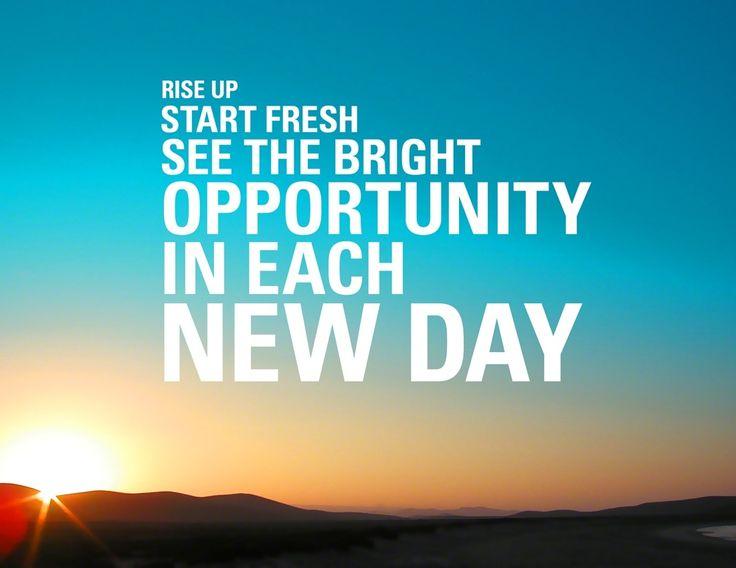 Fresh Start Sales Quotes