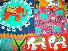 New Cynthia Rowley Elephant 3pc Moroccan Boho India Full