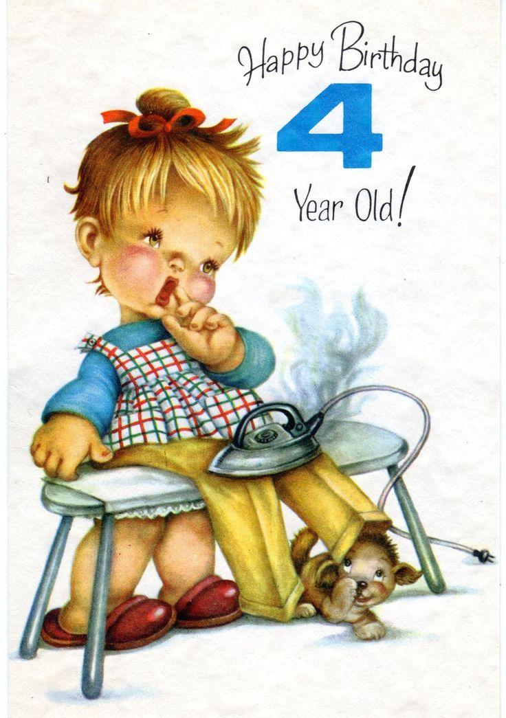 Birthday Wishes 4 Year Old Boy