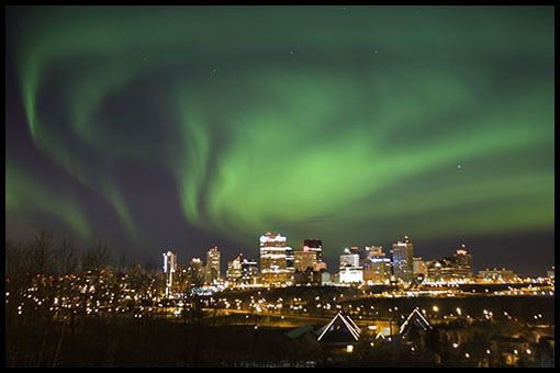 Can You See Northern Lights Vancouver Canada