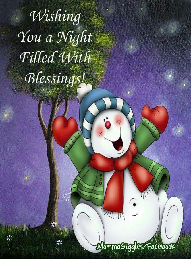 Night And Prayers Good Blessings