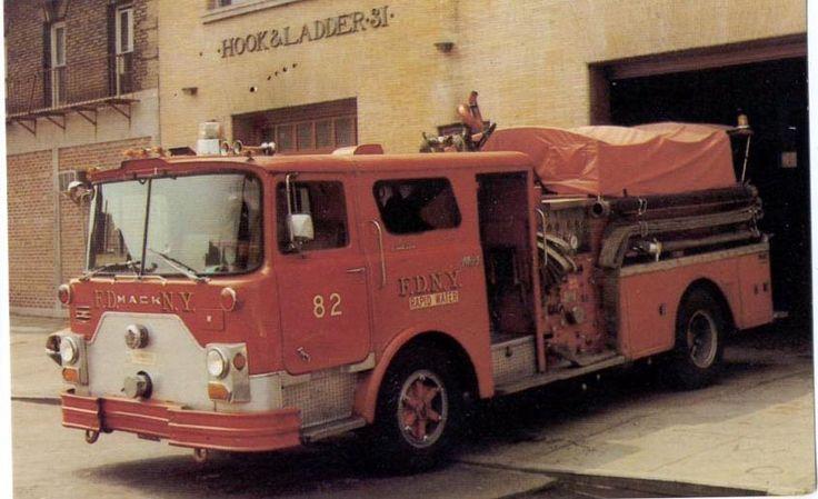 Trucks Fire 1960s Fdny 1970s