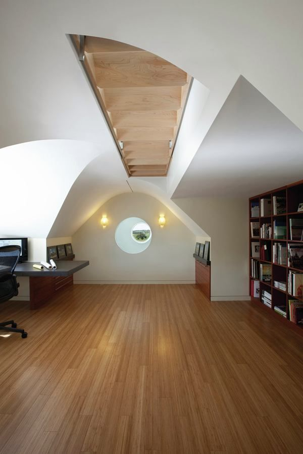 Retractable Spiral Staircase