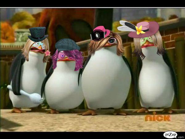 Cartoons Madagascar Funny Penguins