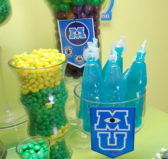 Monster University Candy Table