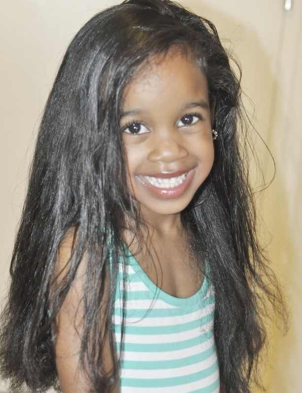 African American Newborn Baby Girl