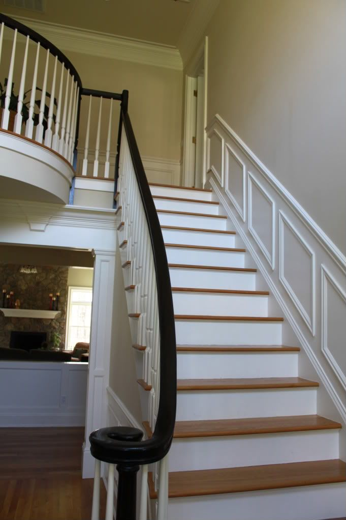 Wood Stair Handrail
