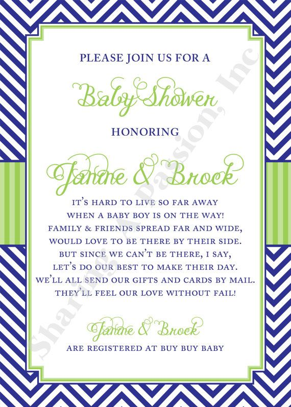 Baby Shower Invitations Requesting Books Instead Cards