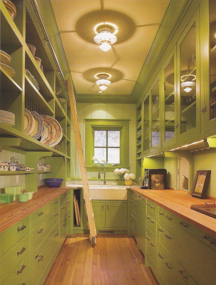 Open Plan Galley Kitchen