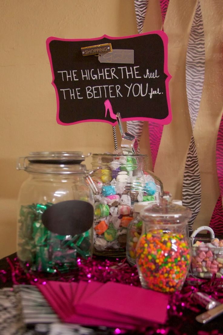 22 Best Images About High Heel Themed Party On Pinterest