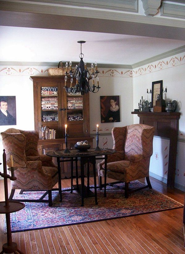 Early American Living Room Furniture