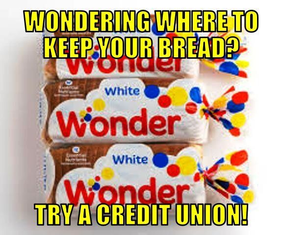 Credit Union Teller Humor