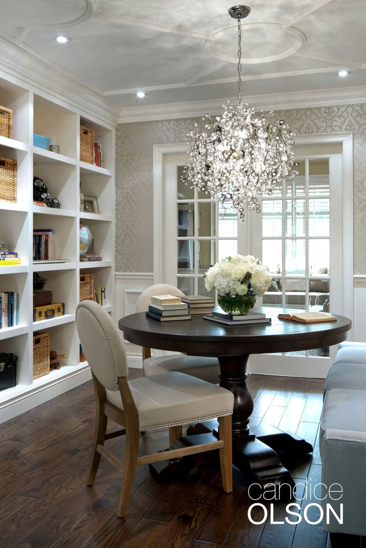 Dining Room Lighting Focuses On The Practical Side Of