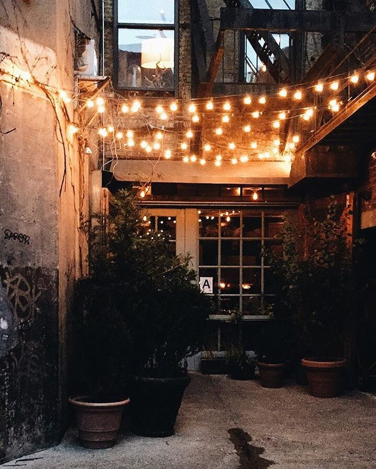 Balcony String Lights